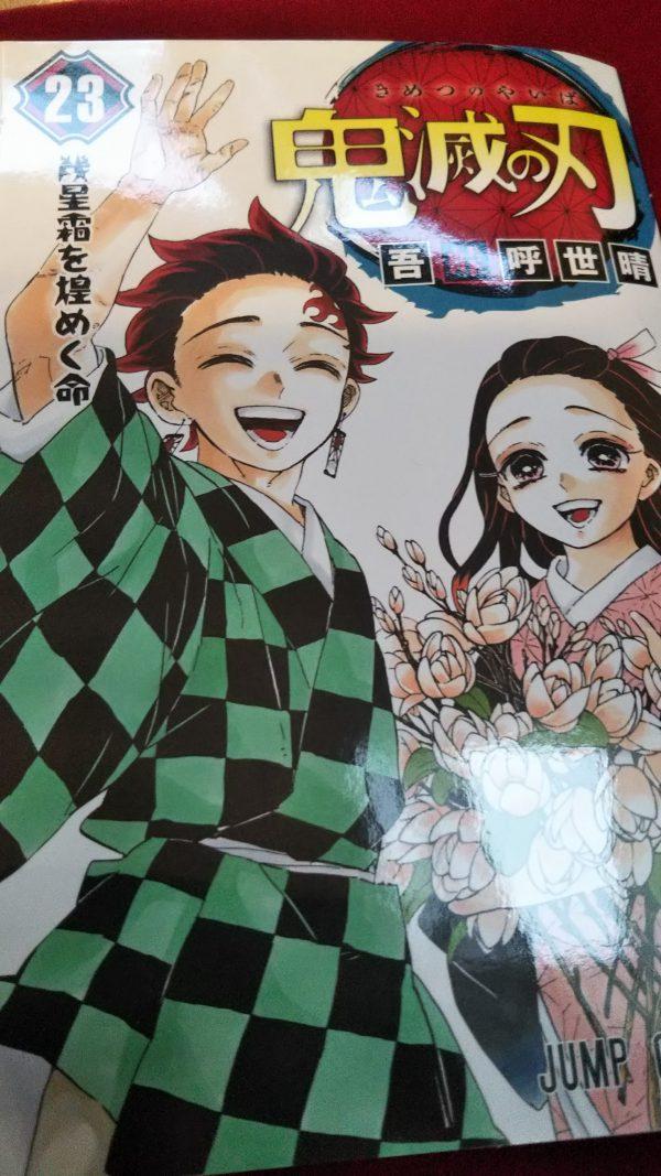 鬼滅の刃23巻ラスト読みました~!感動をありがとう!【追記しました】
